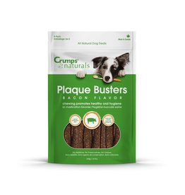 Crumps Naturals Plaque Busters Bacon 4.5in 3.2oz