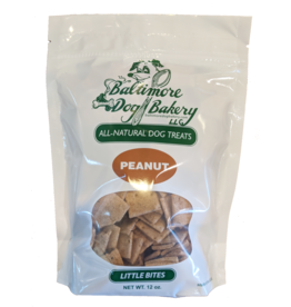Baltimore Dog Bakery Peanut Little Bites 12oz