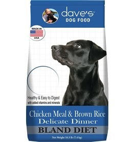Dave's Pet Food Dave's Dog Dry Delicate Dinner 4lb