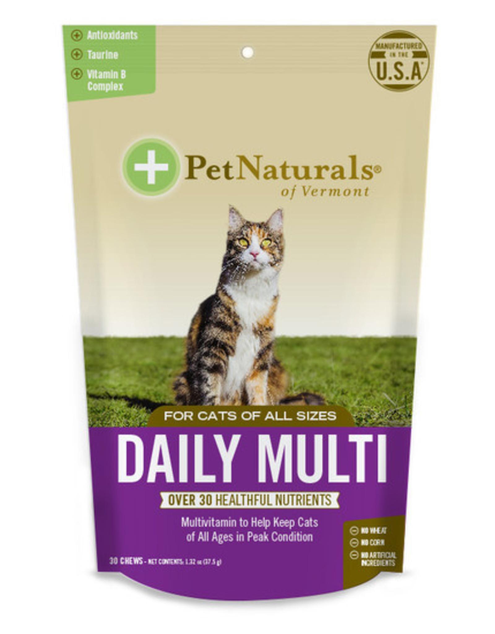 Pet Naturals of Vermont Cat Daily Multi Vitamin Chews30ct