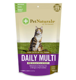 Pet Naturals Cat Daily Multi Vitamin Chews 30ct