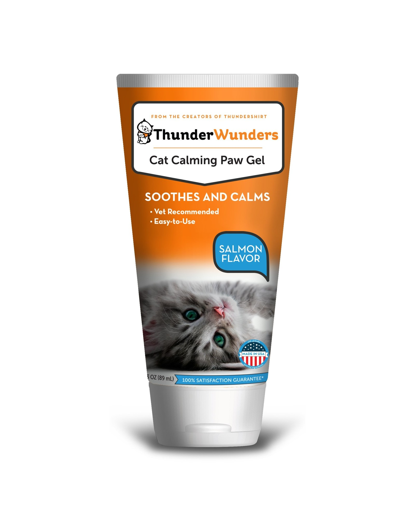 ThunderWunders Natural Calming Paw Gel for Cats3oz