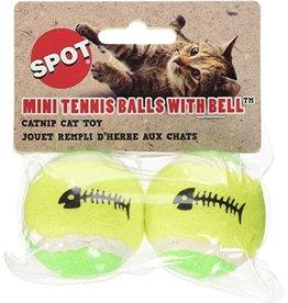 Ethical Pet / Spot Spot Catnip Tennis Balls 2pk