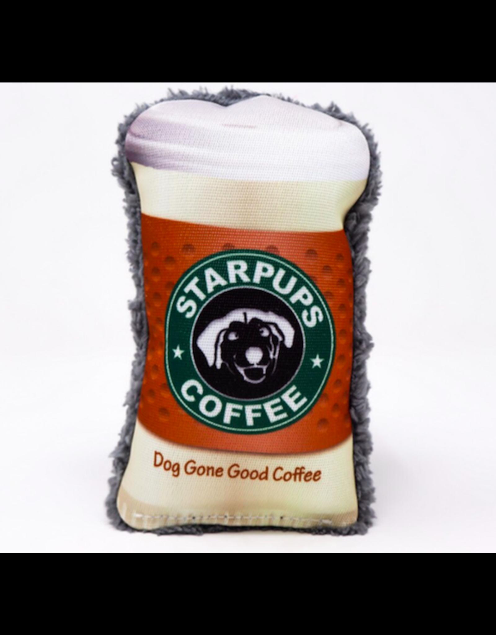 Cycle Dog Cycle Dog DuraPlush Starpups Coffee Dog Toy