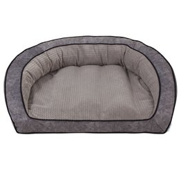 La-Z-Boy Harper Sofa Dog Bed in Smoke