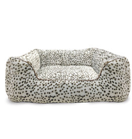 """Sleep Zone 25"""" Step In Bed Snow Leopard"""