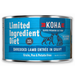 Koha Koha Cat Can LID Shredded Lamb 5.5oz