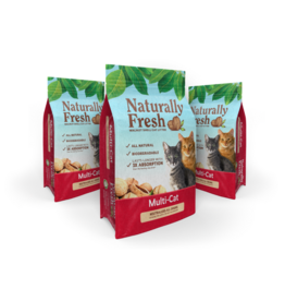 Eco-Shell Naturally Fresh Multi Cat Walnut Litter