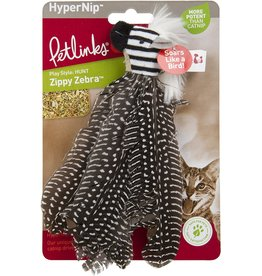 Petlinks Petlinks HappyNip Zippy Zebra Cat Toy