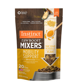 Nature's Variety Instinct Dog Raw Boost Mixers Mobility 5.5oz
