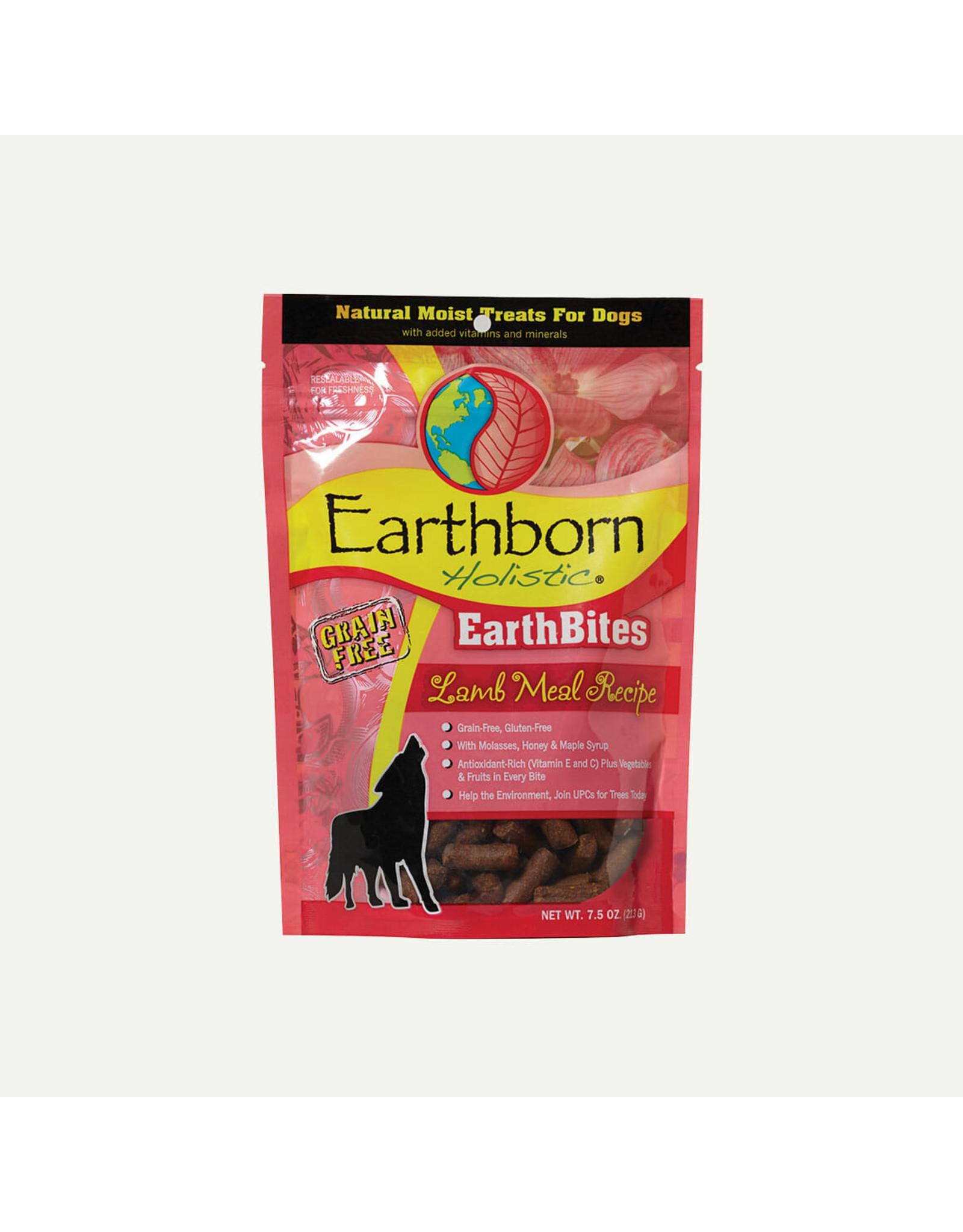 Earthborn Earthborn Earthbites Lamb Meal Recipe Natural Soft Dog Treats 7.5oz Grain Free