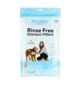 Scrubby Instant Bath Pet Shampoo Mittens 5pk