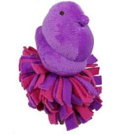 Peeps Peeps Plush Fleece Bottom Chick Dog Toy