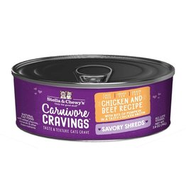 Stella and Chewys SC Carnivore Cravings Shredded Chicken & Beef 2.8oz