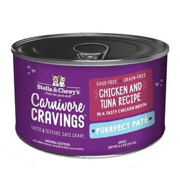 Stella and Chewys SC Carnivore Cravings Pate Chicken & Tuna 5.2oz