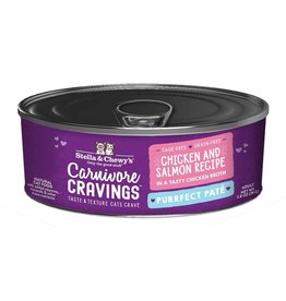 Stella and Chewys SC Carnivore Cravings Pate Chicken & Salmon 2.8oz