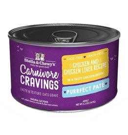 Stella and Chewys SC Carnivore Cravings Pate Chicken & Liver 5.2oz