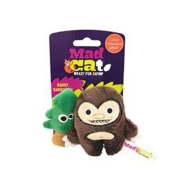 Mad Cat by Cosmic Mad Cat Sassy Sasquatch Catnip Toy 2pk