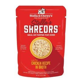 Stella and Chewys Stella's Shredrs Dog Chicken 2.8oz Pouch