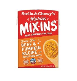Stella and Chewys SC Dog Marie's Mix-Ins Beef Pumpkin 5.5oz
