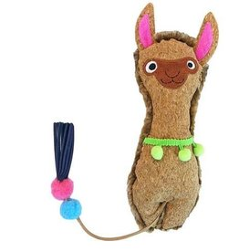 Mad Cat by Cosmic Mad Cat Crafty Cat Llama Kicker Catnip Toy