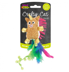 Mad Cat by Cosmic Mad Cat Crafty Cat Unicorn Catnip Toy
