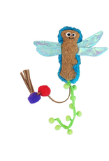 Mad Cat by Cosmic Mad Cat Crafty Cat Flutter Dragonfly Catnip and Silvervine Toy