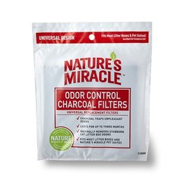 Natures Miracle Nature's Miracle Litter Box Charcoal Filters 2pk