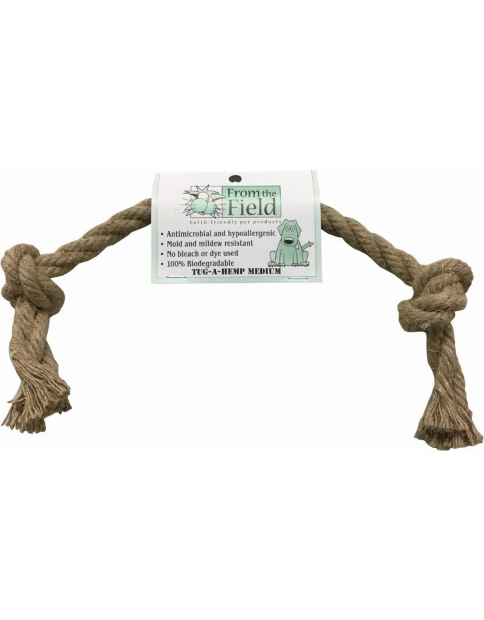 From the Field From the Field Tug-A-Hemp Natural Rope Dog Tug Toy