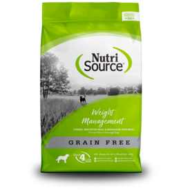 NutriSource NutriSource Dog Dry GF Weight Management 15lb