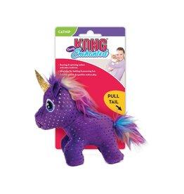 Kong Kong Enchanted Buzzy Unicorn Cat Toy