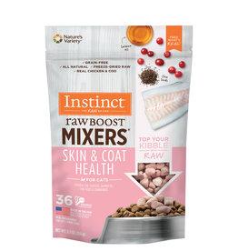 Nature's Variety Instinct Cat Raw Boost Mixers Skin Coat 5.5oz