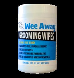 Wee Away Grooming Wipes Hypoallergenic 100ct