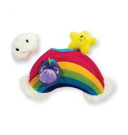 Outward Hound Hide-a-Rainbow Plush Toy