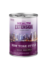 Health Extension Health Extension Wet Dog Food New York Style Beef Recipe 12.5oz Can Grain Free