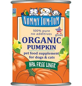 Nummy Tum Tum Organic Pumpkin 15oz Can
