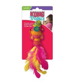 Kong Kong Tropics Wool Fish Catnip Toy