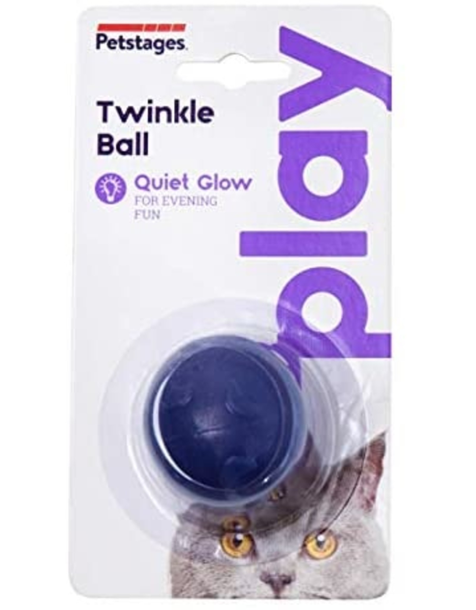 Petstages Twinkle Ball LED Flashing Cat Toy