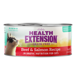 Health Extension Health Extension Cat Can Beef & Salmon 2.8oz