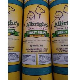 Albrights Albrights Frozen Raw Turkey Chub 2lb