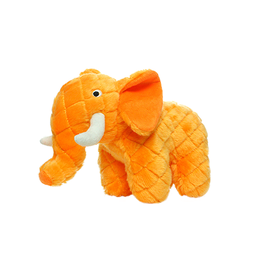 VIP Pet Mighty Safari Orange Elephant Tough Dog Toy