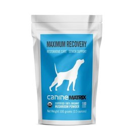 Canine Matrix Recovery Mushroom Supplement