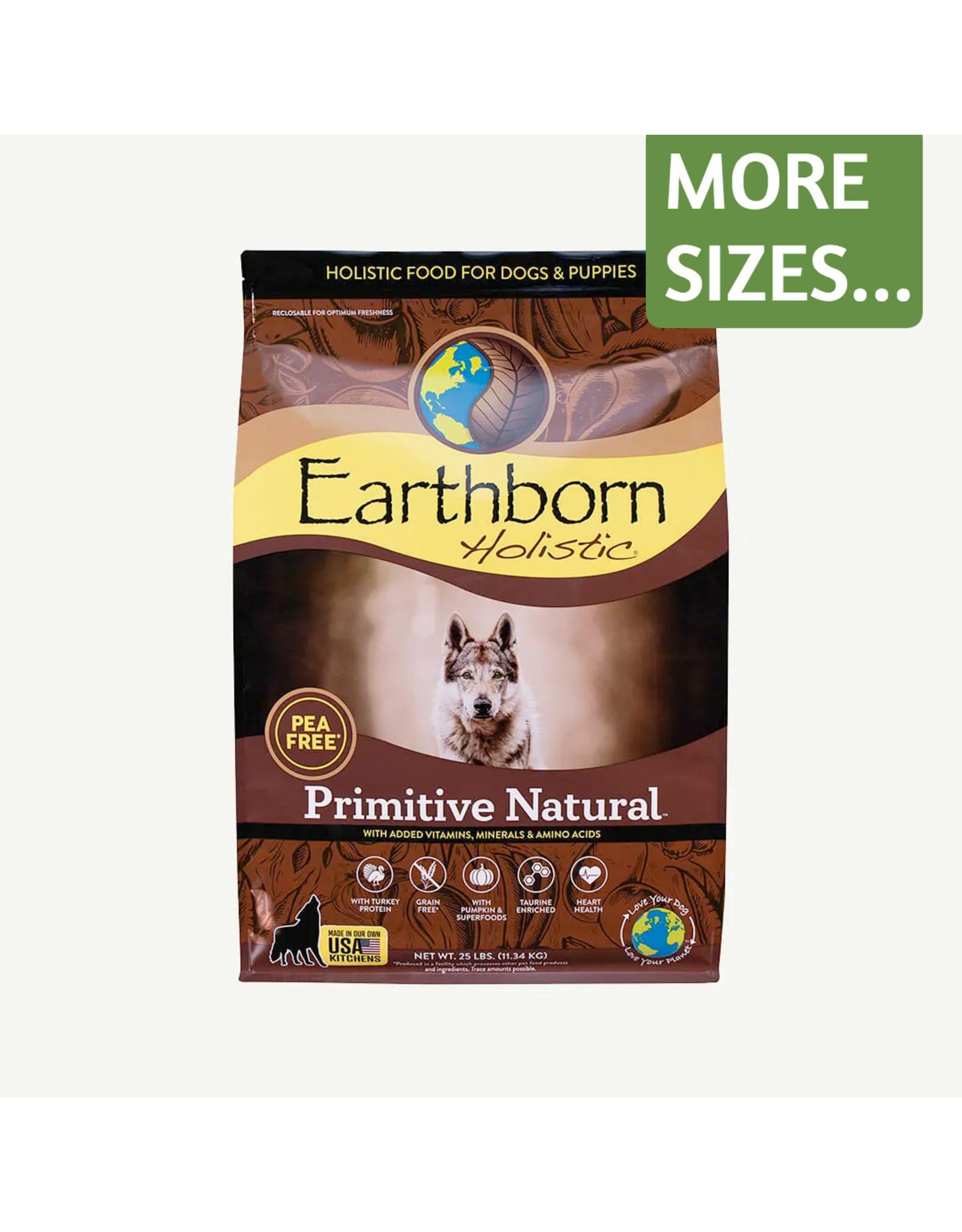 Earthborn Earthborn Holistic Dry Dog Food Primitive Natural Pea Free Grain Free