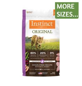 Nature's Variety NV Instinct Cat Dry Original Rabbit GF