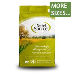 NutriSource NutriSource Cat Dry Senior/Weight Management