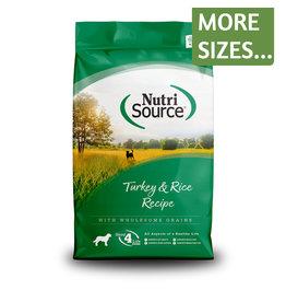 NutriSource NutriSource Dog Dry Turkey & Rice