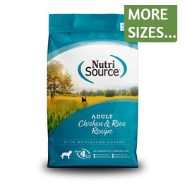 NutriSource NutriSource Dog Dry Chicken & Rice Adult