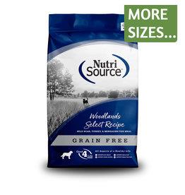 NutriSource NutriSource Dog Dry GF Woodlands Select