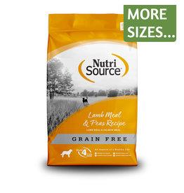 NutriSource NutriSource Dog Dry GF Lamb & Peas