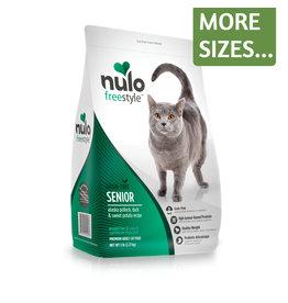 Nulo Nulo Cat Dry Senior Alaska Pollock, Duck & Sweet Potato GF